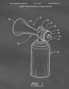 Air Horn Patent on Blackboard