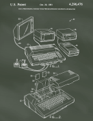 Atari Patent on Chalkboard
