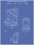 Backpack Patent on Blueprint