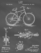 Bicycle Patent on Blackboard