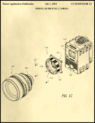 Digital Camera Patent on Parchment