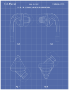 Earbuds Patent on Blueprint