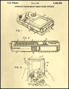 Gameboy Patent on Parchment