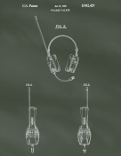Walkie Talkie Patent on Chalkboard