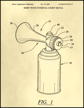 Air Horn Patent on Parchment Printable Patent