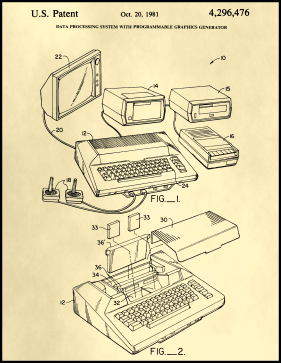 Atari Patent on Parchment Printable Patent