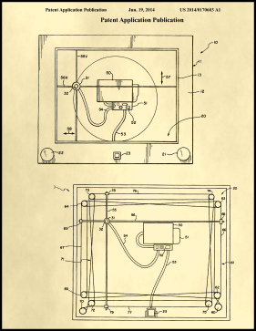 Etch-A-Sketch Patent on Parchment Printable Patent