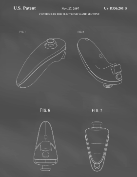 Wii Remote Patent on Blackboard Printable Patent