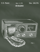 CB Radio Patent on Chalkboard Report Template