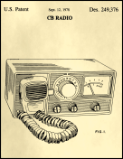 CB Radio Patent on Parchment Report Template