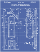Fire Extinguisher Patent on Blueprint Report Template