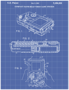 Gameboy Patent on Blueprint Report Template