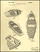 Kayak Canoe Patent on Parchment Report Template