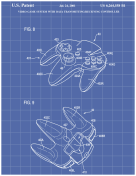N64 Controller Patent on Blueprint Report Template