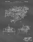 Sewing Machine Patent on Blackboard Report Template