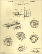 Trumpet Mute Patent on Parchment Report Template