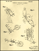 Trundling Backpack Patent on Parchment Report Template